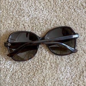 Authentic GUCCI tortoise brown sunglasses